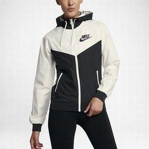 84fc363e84 Nike Jackets   Coats - Nike windbreaker jacket black white NEW WITH TAGS!